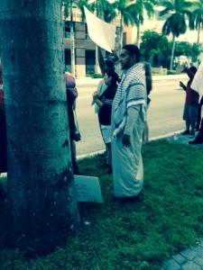 Imam, Coordinator of protest 8-02-14